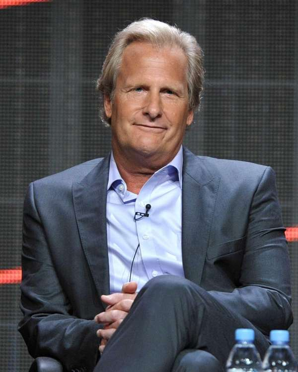 Actor Jeff Daniels appears onstage during HBO's TCA