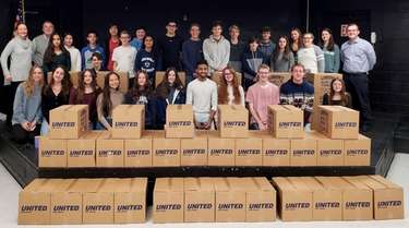 Northport High School students collected enough food to
