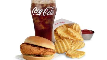 Chick-fil-A's chicken sandwich and fries.