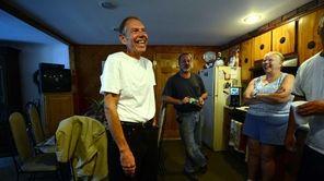 John Grega reunites with friends and relatives at