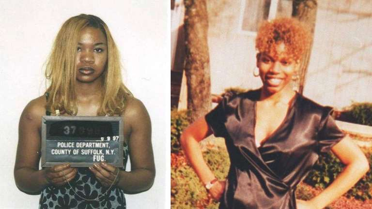 Undated handout images show Kalila Taylor, left, who