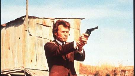 Clint Eastwood in a scene from
