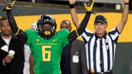DE'ANTHONY THOMAS, Running back/receiver/punt returner, Oregon Spectacular freshman