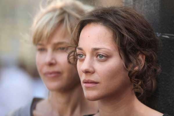 Pascale Arbillot, left, and Marion Cotillard in quot;Little