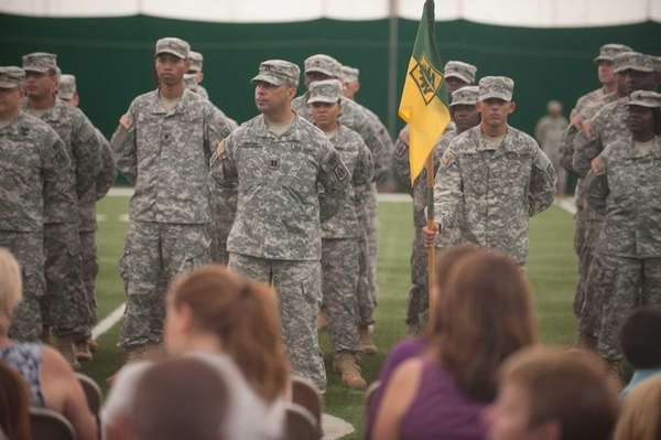 Soldiers from the Farmingdale-based 333rd Military Police Brigade