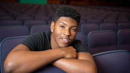 Uniondale High School student Deomiee Scales-Melvin, 16, is