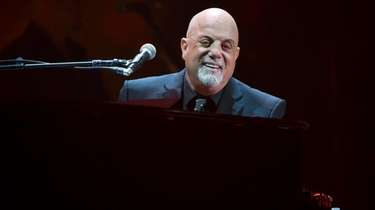 Billy Joel performs during his 100th lifetime