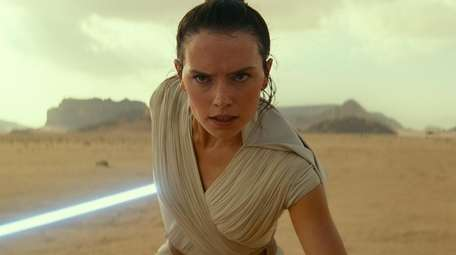 "Rey (Daisy Ridley) in ""Star Wars: The Rise"