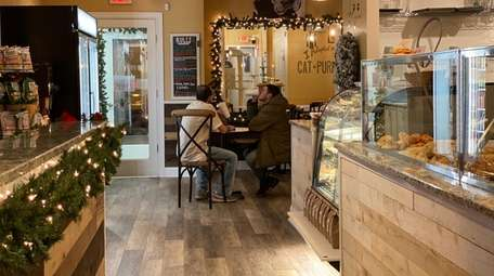 Catpurrccinos Cat Cafe combines fresh pastry and coffee