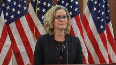 Nassau County Executive Laura Curran on Thursday called