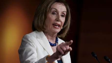 Speaker of the House Nancy Pelosi responds forcefully