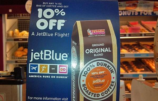 The JetBlue-Dunkin' Donuts promo runs through Sept. 4,