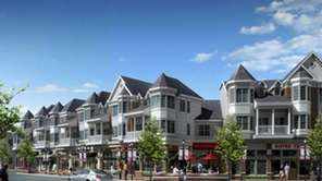 An artist's rendering of the Ronkonkoma Hub, which