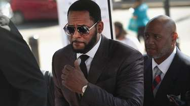R&B singer R. Kelly arrives at the Leighton