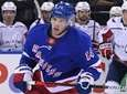 Rangers center Greg McKegg skates against the Washington