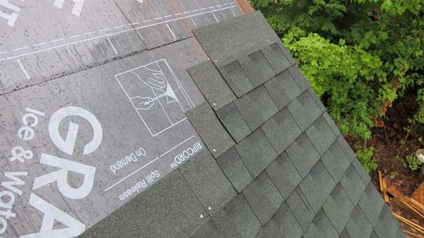 Installing a roof is a tough job, even