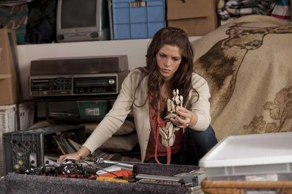 "Aspiring veterinarian Kelly (Ashley Greene) in ""The Apparition."""
