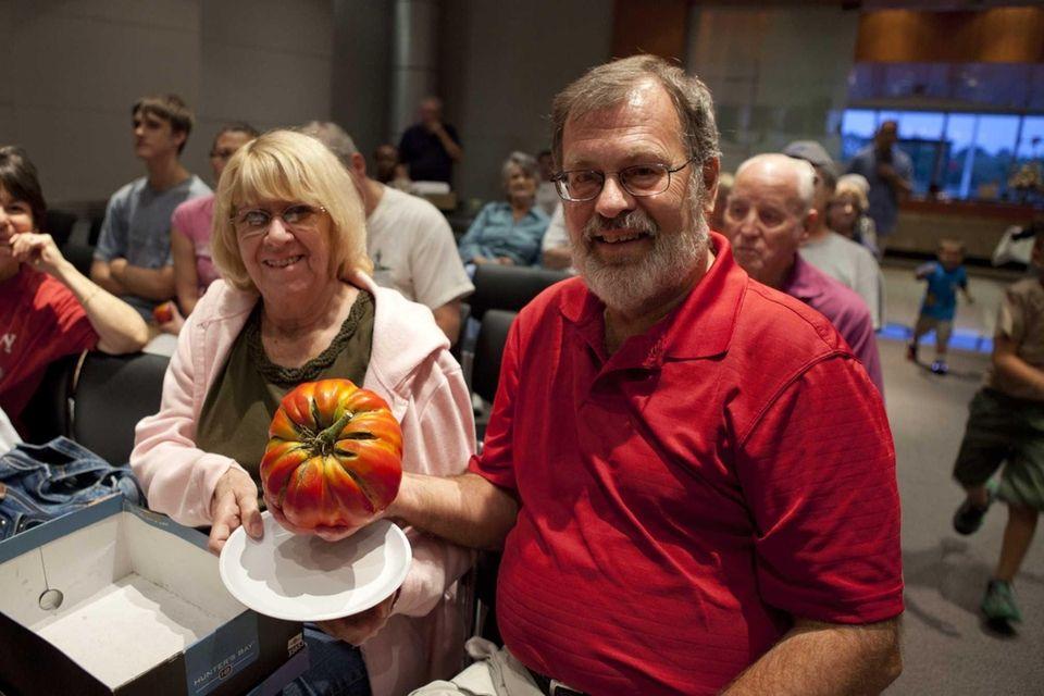 Gary Schaffer of Lindenhurst, with his wife, Linda,