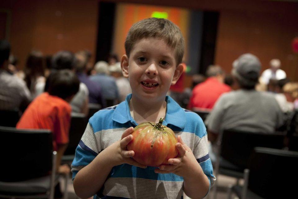 Billy King Jr., 6, winner of last year's