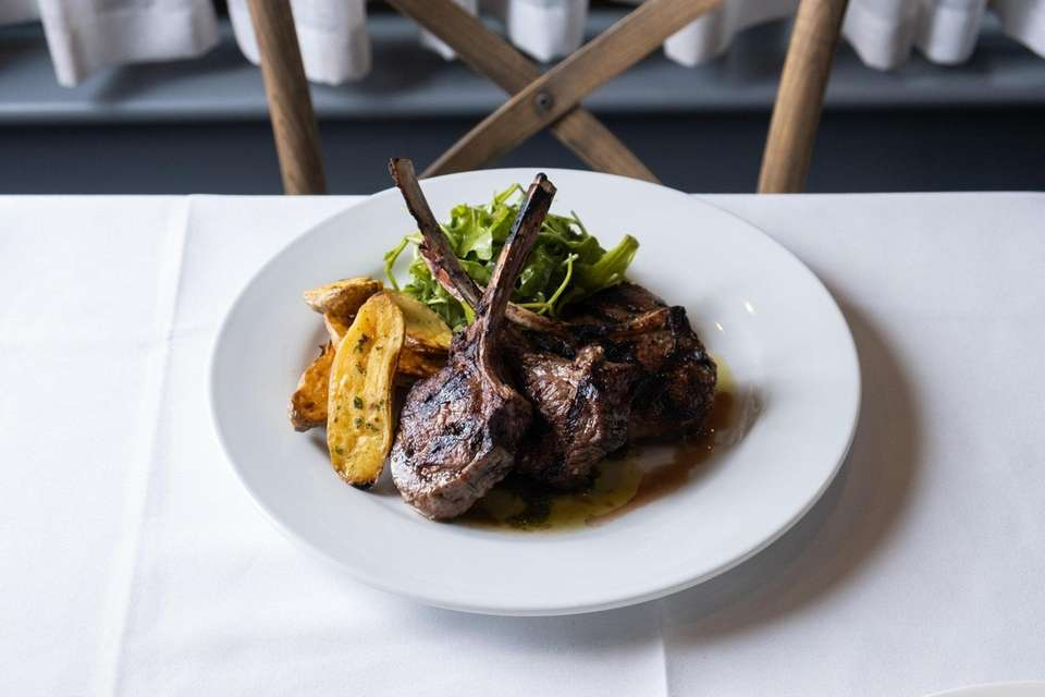Lamb rib chops are hefty, fatty and adroitly