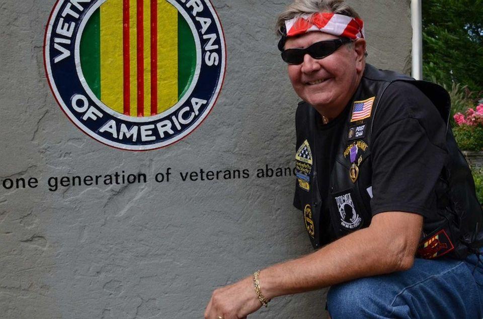 Victor Ramondetta, 69, of Northport, served in Vietnam