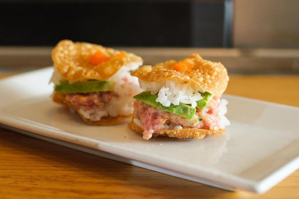 Kotobuki, Hauppauge: Elaborate sushi rolls--more than 70of them--are