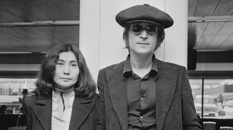 Singer and songwriter John Lennon (1940 - 1980)