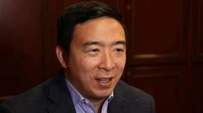 Democratic presidential candidate Andrew Yang says it's possible