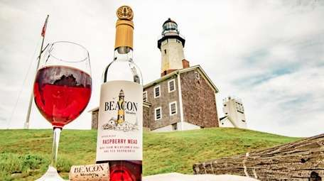 Raspberry mead was the first product from Beacon