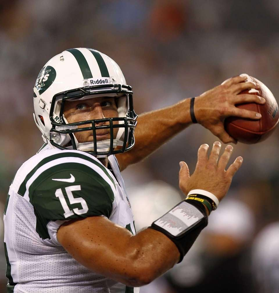 Tim Tebow #15 of the New York Jets
