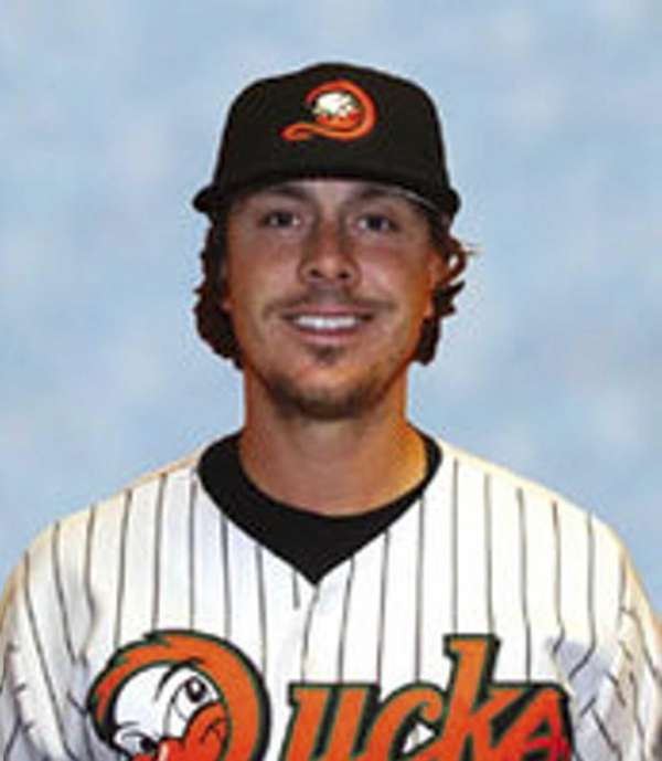 Long Island Ducks pitcher Bubbie Buzachero.