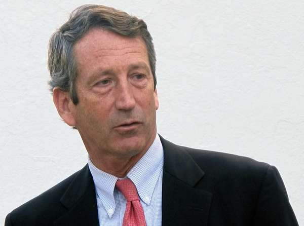 Former South Carolina Gov. Mark Sanford leaves a