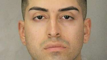 Daniel Valenzuela, 22, of Elmont faces charges of