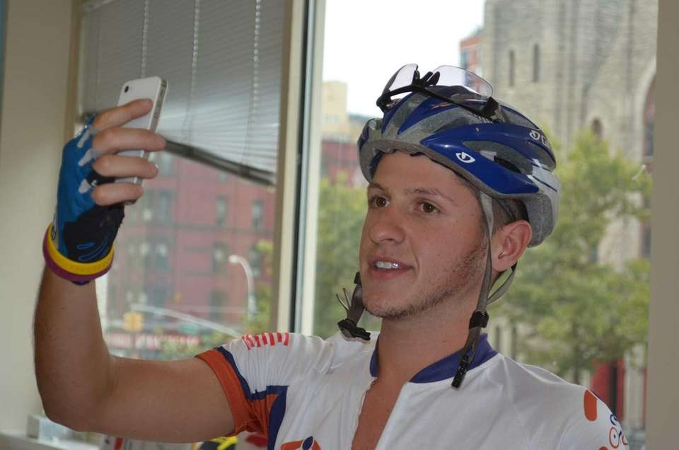 Aaron Neufeld, 22, of North Woodmere, video blogged