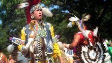 Devan Kicknosway of Ottawa, Canada, who is Mohawk