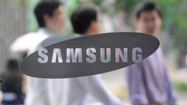 A Samsung logo in Seoul. (July 30, 2010)