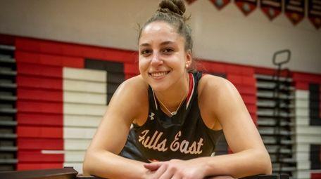 Hollow Hills East High School girls basketball player