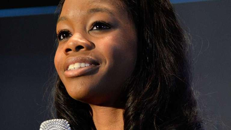 London 2012 Olympic games gold medalist Gabby Douglas