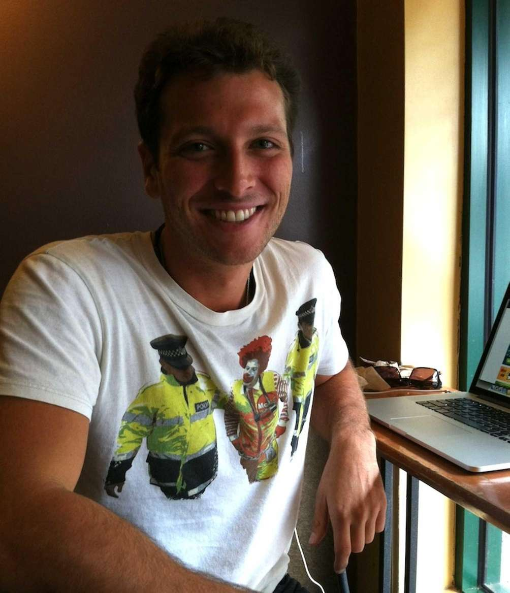 Brett Joseph, 27, of Great Neck, has lived