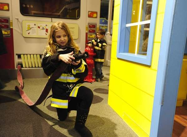 At the Nassau County Firefighters Museum and Education