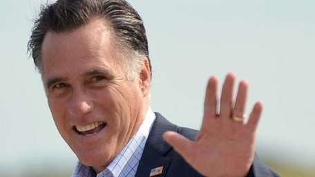 Republican presidential candidate Mitt Romney is scheduled to