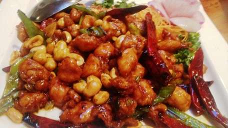 This is the kung pao chicken at Tao