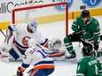 Dallas Stars forward Andrew Cogliano (11) deflects the