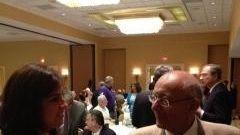 D'Amato with Staten Island Assemblywoman Nicole Malliatakos