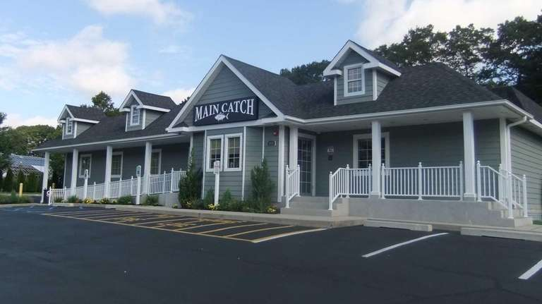 This is the new Main Catch in Commack.