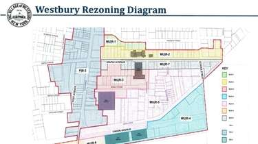 The proposed Maple/Union triangle rezoning area, or MU
