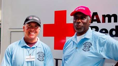 D.A.R.T. (Disaster Assistance Response Team) volunteers Gary Demry