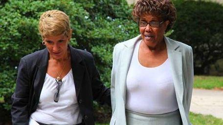 New York State Senator Shirley Huntley after she