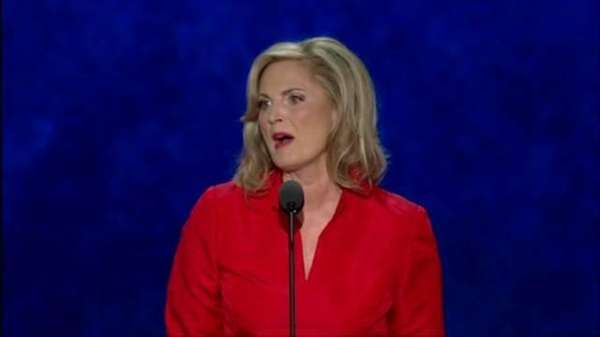 At the Republican National Convention, Ann Romney shares