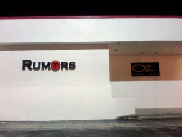 A new club called Rumors is set to